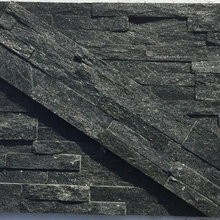 Villa dedicated Upscale black slate decorative cultural stone black stone
