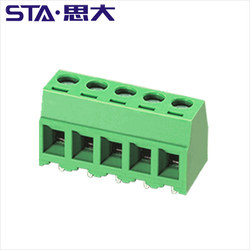 2 3 Position 3.5mm Pitch Straight Pin PCB Screw Terminal Block Connector 300V 10A CE ROHS UL certification