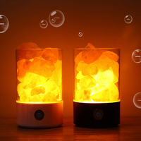 2019 best gift Touch sensor USB colorful night light himalayan crystal salt lamp