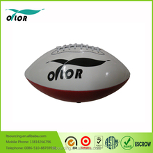 Size 7 machine sewn custom made pvc leather american football