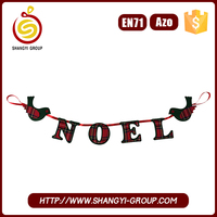 Promotional christmas tinsel garland for sale