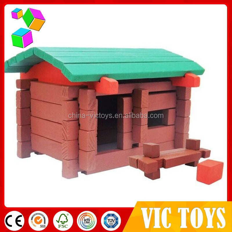 2016 NEW design Wooden DIY Kids House Mini wooden house For Kids Play