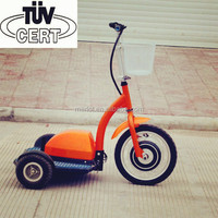 3 wheel 48v lithium ion battery eec electric scooters 500 watts