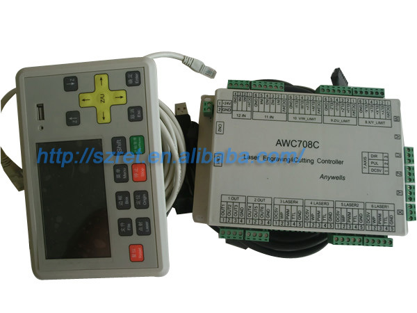 co2 laser controller awc708c