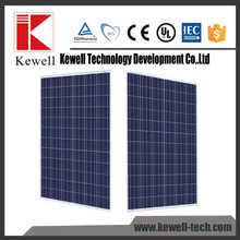 High grade lower price polycrystalline silicon transparent 250w 3BB poly solar panel
