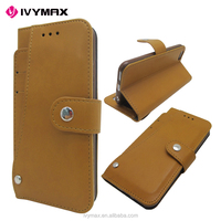IVYMAX high quality multi-function 4.7 inch leather wallet case for apple iphone 6
