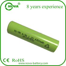 3600mAh 3800mAh 4000mAh 4300mAh 17650 17670 4/3a nimh low high temperature battery