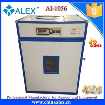 Automatic egg turning incubator small AI-1056 seasoned chicken With high quality