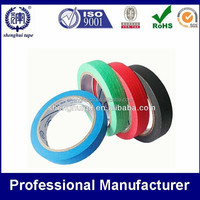 Customized Hi-quality colorful rubber masking tape