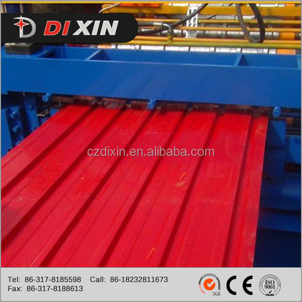 Metal Roofing System Single And Glazed Panel Double Layer Roll Forming Machine