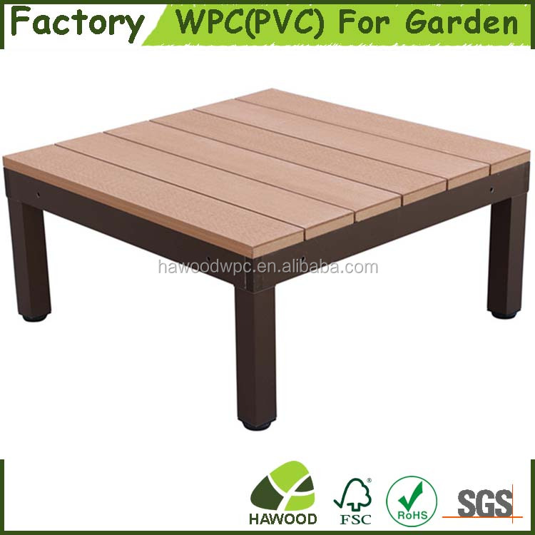 High Quality Easily Assembled DIY WPC Garden Modular decking System
