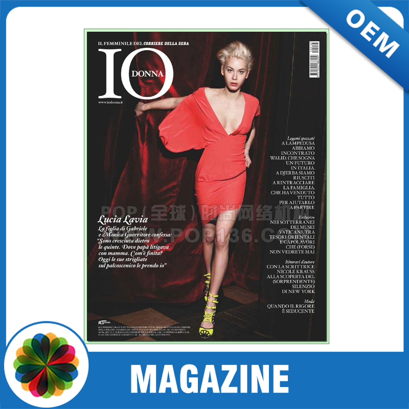 Hot Selling Cheap Custom Full Color Printing book Hong Kong Adult Magazine