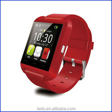 LEDO Low pirce free sample smart watch U8 for Android and IOS system