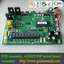 FR-4 electronic motor pcb assembly blood glucose meter pcba