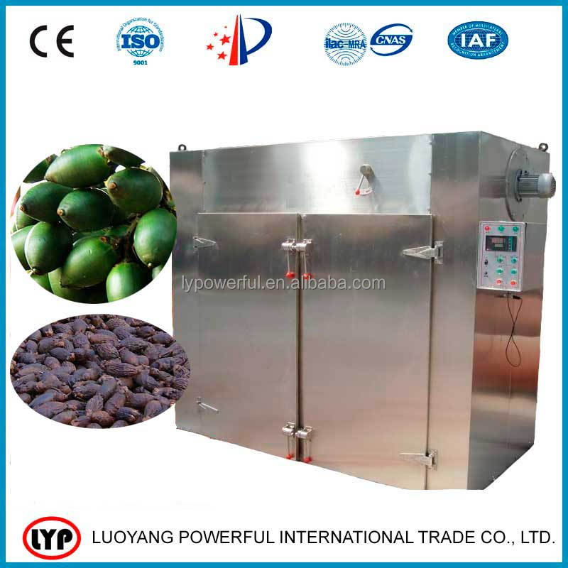 On alibaba high quality areca nut hot air circulating oven dryer