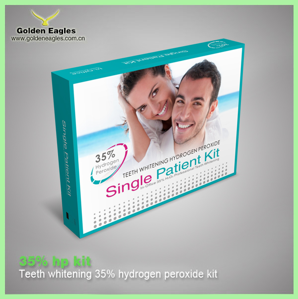 professional hydrogen peroxide Teeth whitening gel kit