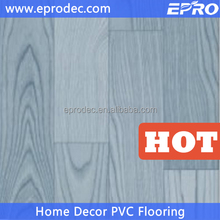 anti-Static wood grain floor covering pvc sponge flooring