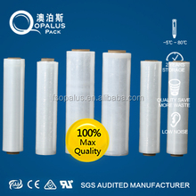 agriculture black plastic stretch pgacking film roll for greenhouse