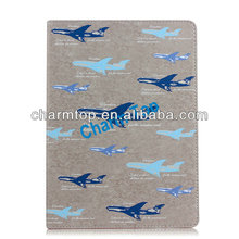 Airplane Design Leather Stand Cover For iPad Air iPad 5