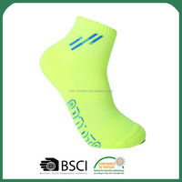 New Arrival custom design bright colored ankle socks for wholesale