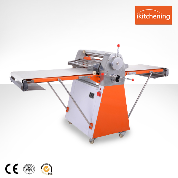 Stainless Steel Bread Making Machine Dough Sheeter / Dough Rolling Machine / Pizza Dough Pressing Machine