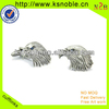 custom 3D eagle logo funny cufflinks