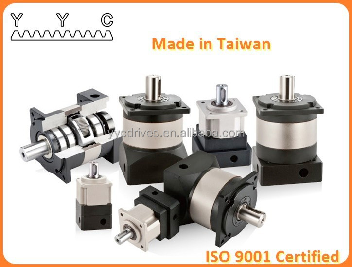 YYC Made in Taiwan High End Servo Planetary Reducer for Gearbox Conveyor