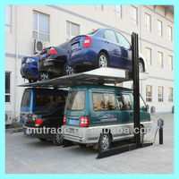 China Two Cars Stopping parking lift vehicle underground garage