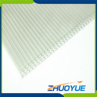 4x8 sheet building material polycarbonate corrugated plastic roofing sheets