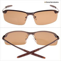 2015 Fashion Sunglasses 3043 men Bronze frame tea lens
