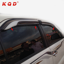 suv accessories 4 doors injection windows visor for fortuner