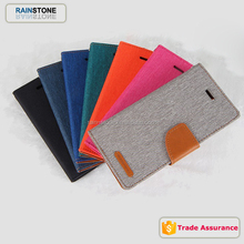 PU leather +TPU case for apple iphone 4 4S flip wallet case