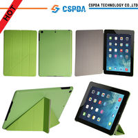 Green Smart Cover Case for iPad Air Transformer Case with Autom Wakeup Function