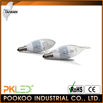 PKLED TAIWAN LED Candle light 400lm