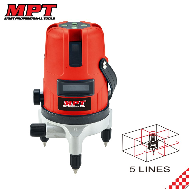 MPT battery multi line laser level