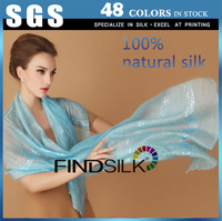 China good quality satin silk fabric in solid colors