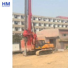 Second Hand Pile Foundation Construction Equipment Used Sany SR150C Rotary Drilling Rig for Sale