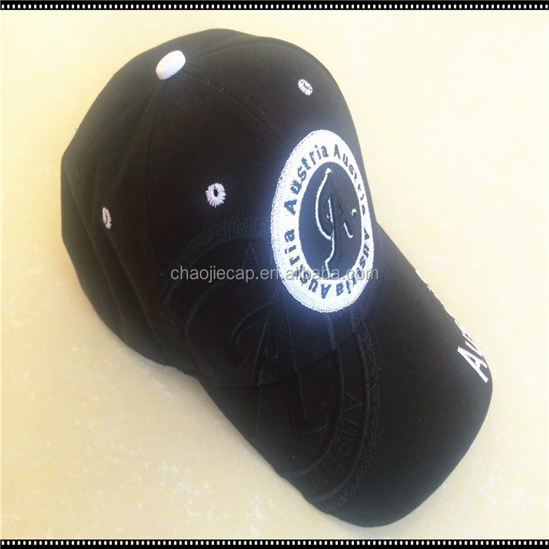 100%cotton 6panels sport baseball cap and hat