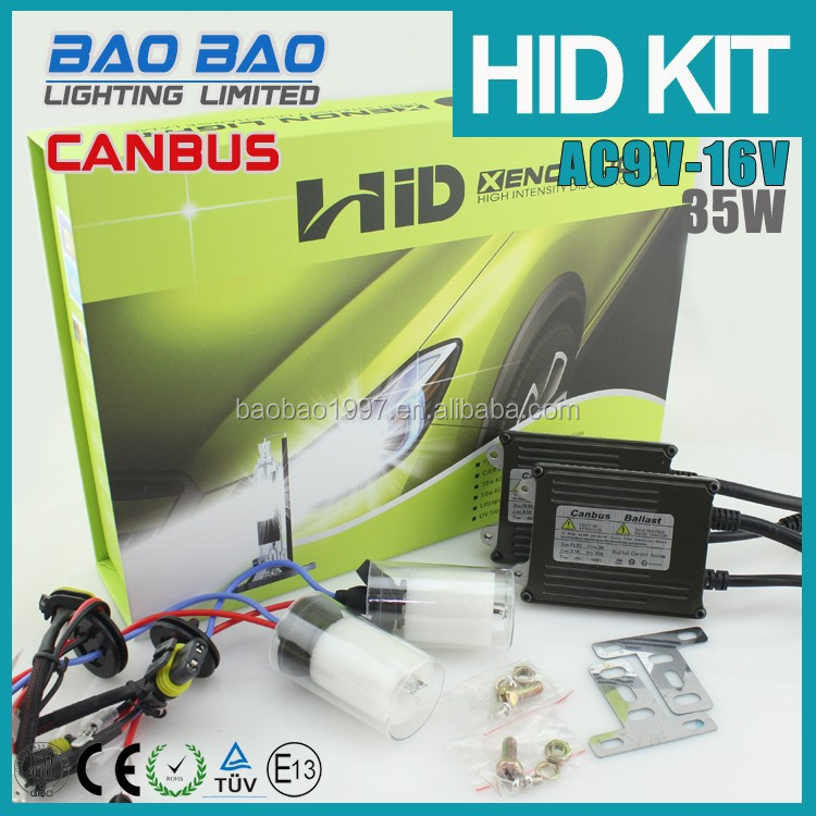 Hot sale canbus hid kits H1 H3 H4 H7 with attractive looking strong canbus function--BAOBAO LIGHTING