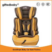 2017 new racing style fabric adjustable car seat baby booster seat