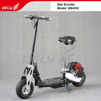 CE Approved Foldable trike Gas Scooter 43CC GS4302