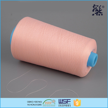 150D/1 18tex 160ticket Chemical Resistance polyester texture leather shoe sewing thread