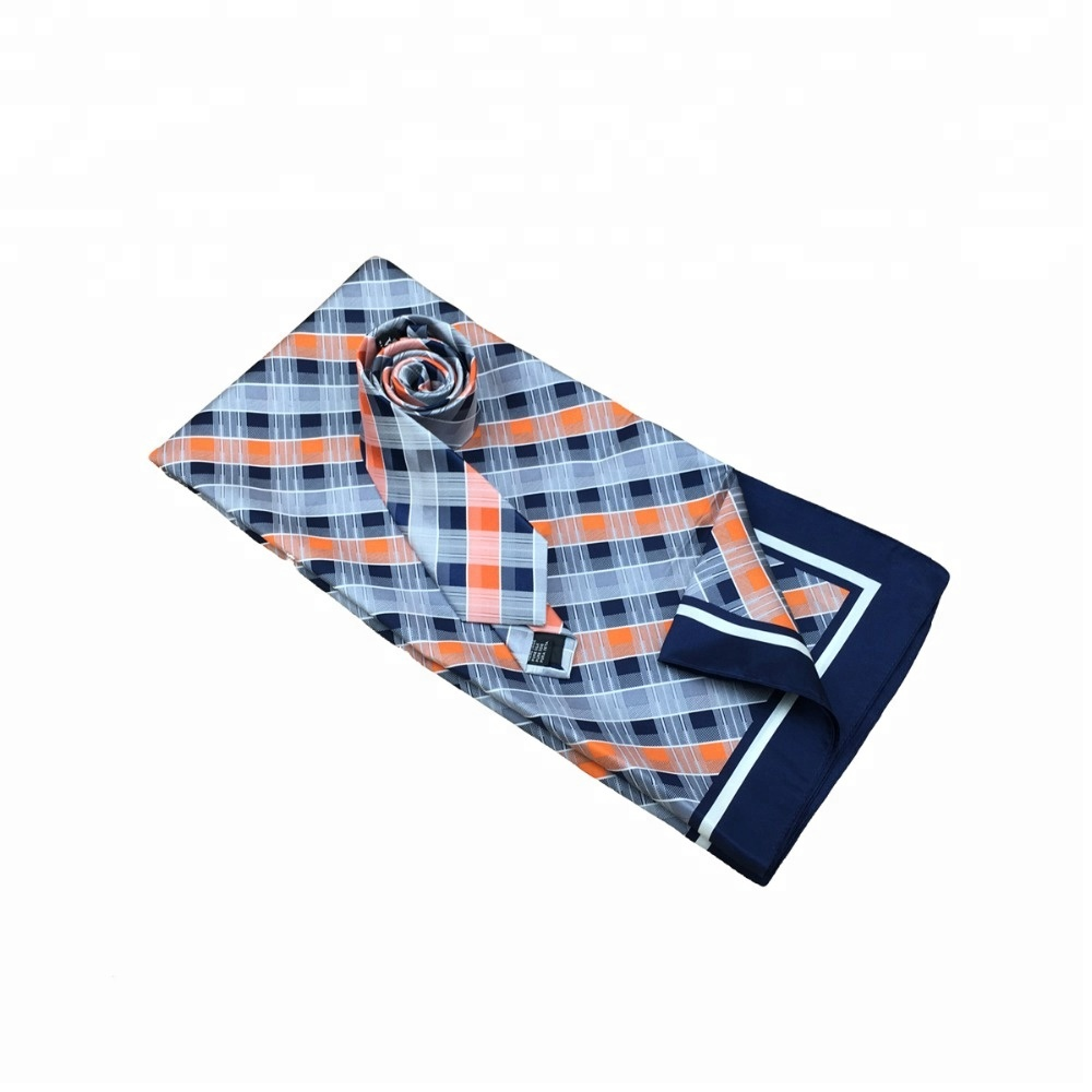 New Trend Focus Fashion 100% Handmade Custom Club Logo Printed Scarf <strong>Ties</strong>