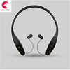 bluetooth neckband headphone without wire, retractable bluetooth earbuds BT-8900