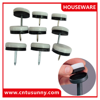 best wholesale plastic chair glides china/nail glide for furniture feet