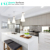 Artificial Pure White Quartz Stone Countertop