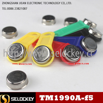 High quality factory price wholesale TM1990A in different size and color tracking ibutton smart card