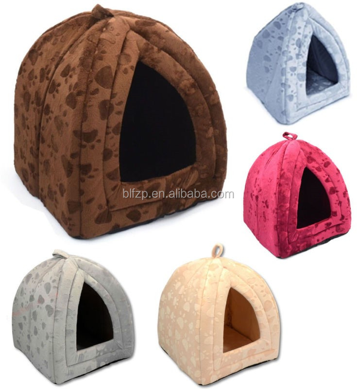 Pet Product Home House Hot Dog Shaped Dog Bed