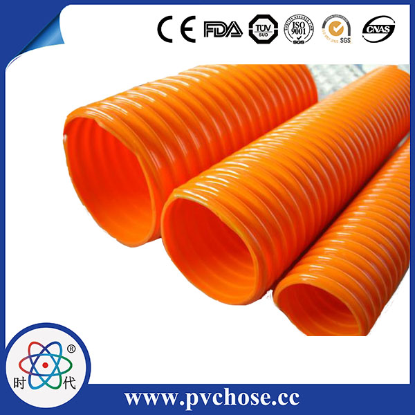 Hydraulic Teflon food grade pvc suction hose rubber material flexible water hose 3 inch pvc suction water hose Argentina