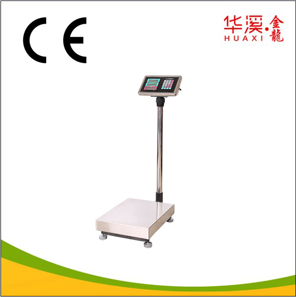 tcs electronic price platform weight price scale 100kg